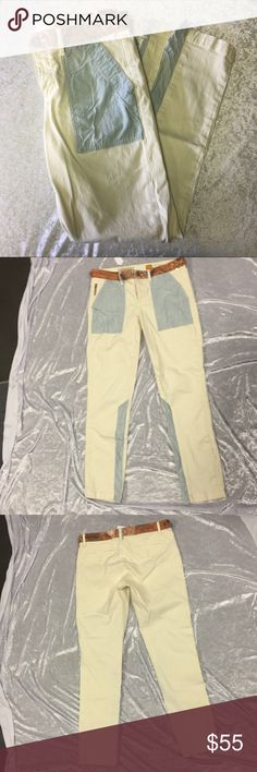 Pilcro and letterpress Jean Anthropologie Jeans Straight Leg
