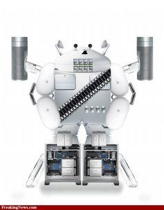 Apple Laptop, Apple Products, Robots, Toilet Paper, News, Pictures, Photos, Robot, Toilet Paper Roll