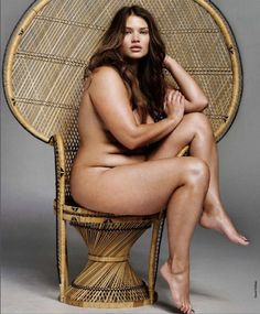 A beautiful, curvaceous woman.