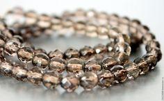 Купить РАУХТОПАЗ (Smoky TOPAZ) - ( ИНДИЯ ).104 - коричневый, раухтопаз, камни