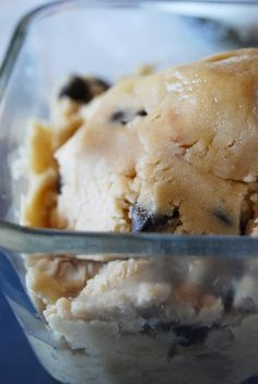 No Need to bake Cookie Dough