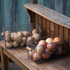 Wire Baskets | Farmh