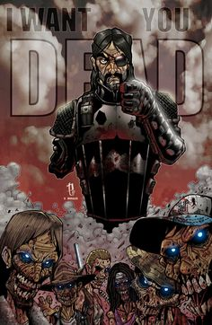 I WANT YOU DEAD-GOVERNOR by Puis Calzada colored by Dany-Morales