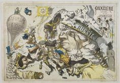 10 Astonishing Maps of Europe Made With Satire Caricatures - Explore like a Gipsy, Study like a Ninja