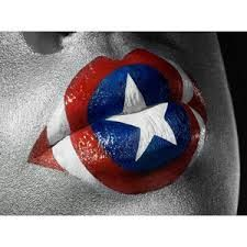 Captain America lips