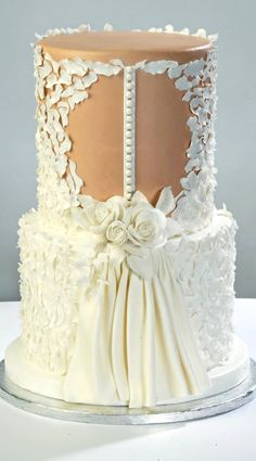 Wedding Dress Red Velvet Cake, coconut buttercream frosting.  Enjoy RushWorld boards, WEDDING CAKES WE DO, UNPREDICTABLE WOMEN HAUTE COUTURE and MUCH more. Follow RUSHWORLD on Pinterest! New content daily, always something you'll love!