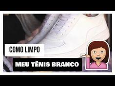 COMO LIMPAR TÊNIS BRANCO EM 5 MINUTOS SEM LAVAR - YouTube