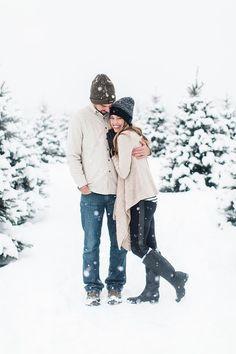 Snowy Christmas photo