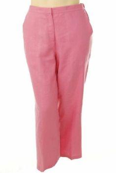 Bloomingdales Linen Pant Pink 16W Bloomingdales. $29.41