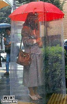 Rain protection win