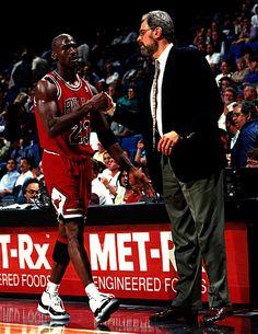 #michael jordan #Phil Jackson