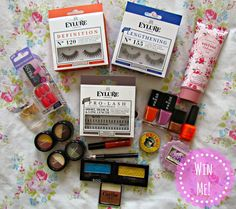 *Giveaway* Win A Bag Of Beauty Goodies ♥ http://www.dollydowsie.com/2014/07/giveaway-win-bag-of-beauty-goodies.html