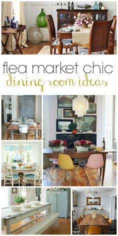Flea Market Chic Dining Room Ideas BHG Style Spotters