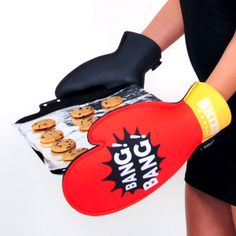 Boxing Oven Mits
