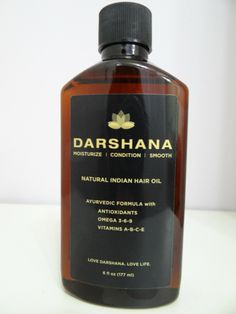 Darshana Natural Indian Hair Oil review by popular Beauty and Fashion Tech blogger Carleen!!! Simply Amazing!