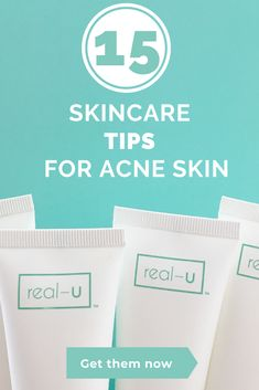 Our skincare experts gives you her top 15 skin tips to clear acne and pimples and achieve clear, healthy skin. Acne And Pimples, Acne Skin, Acne Prone Skin, Diy Beauty Face, Beauty Tips, Beauty Hacks, Skin Tips, Skin Care Tips, Beauty Regimen