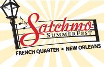 August 2 - 5, 2012 Satchmo Summerfest, New Orleans  The premier American jazz festival dedicated to the life, music and legacy of New Orleans' native son, Louis 'Satchmo' Armstrong.  This free community event is produced by French Quarter Festivals, Inc.    http://www.fqfi.org/satchmosummerfest/index.html