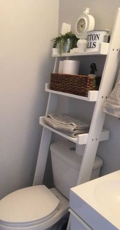 Over The Toilet Leaning Ladder Shelf Made to Order Decor Bathroom Space Saver Ba. Over The Toilet Leaning Ladder Shelf Made to Order Decor Bathroom Space Saver Bathroom Storage Farm Small Space Living Room, Living Room On A Budget, Budget Bedroom, Decor For Small Spaces, Small Livingroom Ideas, Clothes Storage Ideas For Small Spaces, Interior Design Ideas For Small Spaces, Interior Ideas, Bedroom Storage For Small Rooms