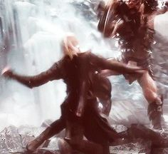 Legolas in the battle of the five armies