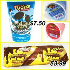 Rich Ice Cream Ice Cream Man, Fudge, Vanilla, Banana, Cookies, Crack Crackers, Biscuits, Bananas, Cookie Recipes