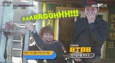 Eunkwang before Bungee Jump...