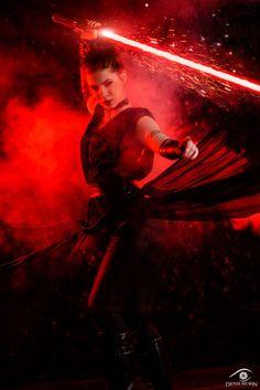 Star Wars - Dark Rey by Anastasya Zelenova
