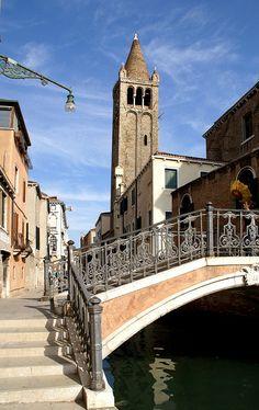 San Barnaba church in Venice - Veneto, Italy