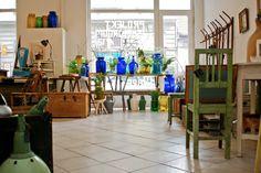Projekt Showroom's antiques pop-up store - until March 22 Budapest, Pop Up, Showroom, Shops, Elegant Table, Antique Furniture, The Good Place, March, Antiques
