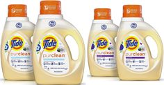 Amazon+:+Two+Bottles+Of+Tide+Purclean+Detergent+For+Only+$11+Shipped+($0.17+Per+Load)