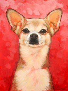 z6pixle Dog Painting #AnimalArt #Art