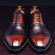 Handmade+Pure+Leather+Classic+Combination+Of+Black+&+Red+Color+Stylish+Wing+Tip+Brogue+Oxford+Shoes+for+Men's Upper+Material+Genuine+Leather+ Inner+Soft+Leather+ Style+Wing+Tip+Brogue+Oxford+ Color+Black+&+Red Sole+Leather Gender+Male+ Heel+Leather+ Leather Fashion, Fashion Boots, Mens Fashion, Comfortable Mens Dress Shoes, Custom Design Shoes, Formal Shoes, Men S Shoes, Luxury Shoes, Brogues