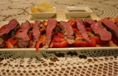 Steak Tataki With Citrus Ponzu