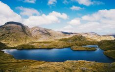 Download wallpapers Sprinkling Tarn, 4k, hills, lake, Keswick, England, UK