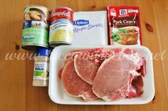 The Country Cook: Crock Pot Smothered Pork Chops: