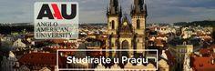 Studirajte u Pragu na engleskom jeziku