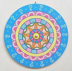 Mandala Inspiração Étnica - MDF