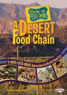 Desert Food Chain. ~ Mastering Montessori ❤️