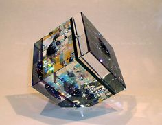 Glass Sculptures | ... back to collection cubes 4 series jack storms glass art sculptures