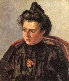 Camille Pissarro (1830-1903) ~ Jeanne (aka Cocotte) Pissarro ~ Pissarro married Julie Vellay & of their 8 children, 1 died at birth & 1 daughter died aged 9. The surviving children all painted. He was survived by sons Lucien, Georges, Félix, Ludovic-Rodolphe, Paul Emile, and daughter Jeanne. Pissarro produced several touching portraits of his daughter named Jeanne.