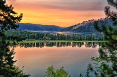 The beautiful St. Joe River (north) works its way through Benewah, Round and Chatcolet lakes before flowing into Lake Coeur d'Alene. [Courtesy Philip Kuntz]