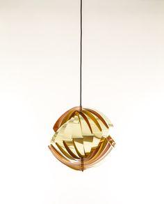Konkylie pendant created by Louis Weisdorf for lighting manufacturer Lyfa.