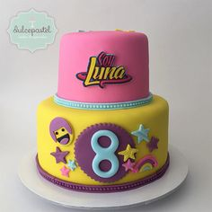 Torta de Soy Luna en Antioquia by Dulcepastel.com #tortasoyluna #tortasoylunamedellin #tortasoylunaenvigado #tortasoylunacolombia #tortasoylunacolombia