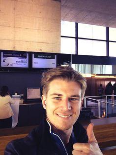 Snapshot of Nico Hülkenberg on the way to the 2014 Australian GP