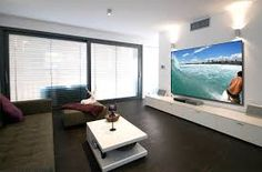 Image result for living room projector ideas