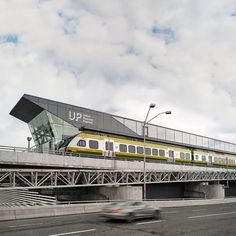 UP Express station at Pearson Airport Toronto - Take to Union Station and walk to Le Germain