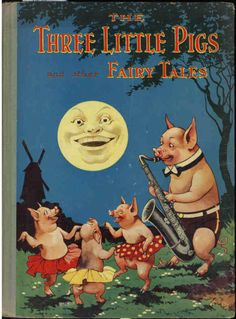 ''The Three Little Pigs and Other Fairy Tales'' Juvenile Productions Ltd. No date, circa 1940s