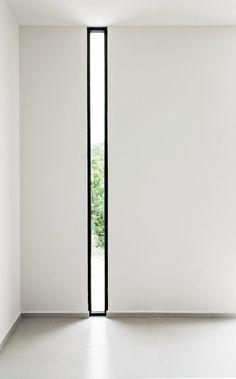 Floor-to-ceiling narrow window. W41 by Warm Architects. Photo by Zaruhy Sangochian.