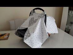 Puset örtüsü yapımı dikimi (Oto koltuğu Ana kucağı örtüsü dikimi ) - YouTube