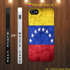 venezuela flag, vintage venezuela flag - iPhone 4 Case, iPhone 4s Case, iPhone 5 Case