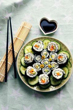vegetable sushi <3